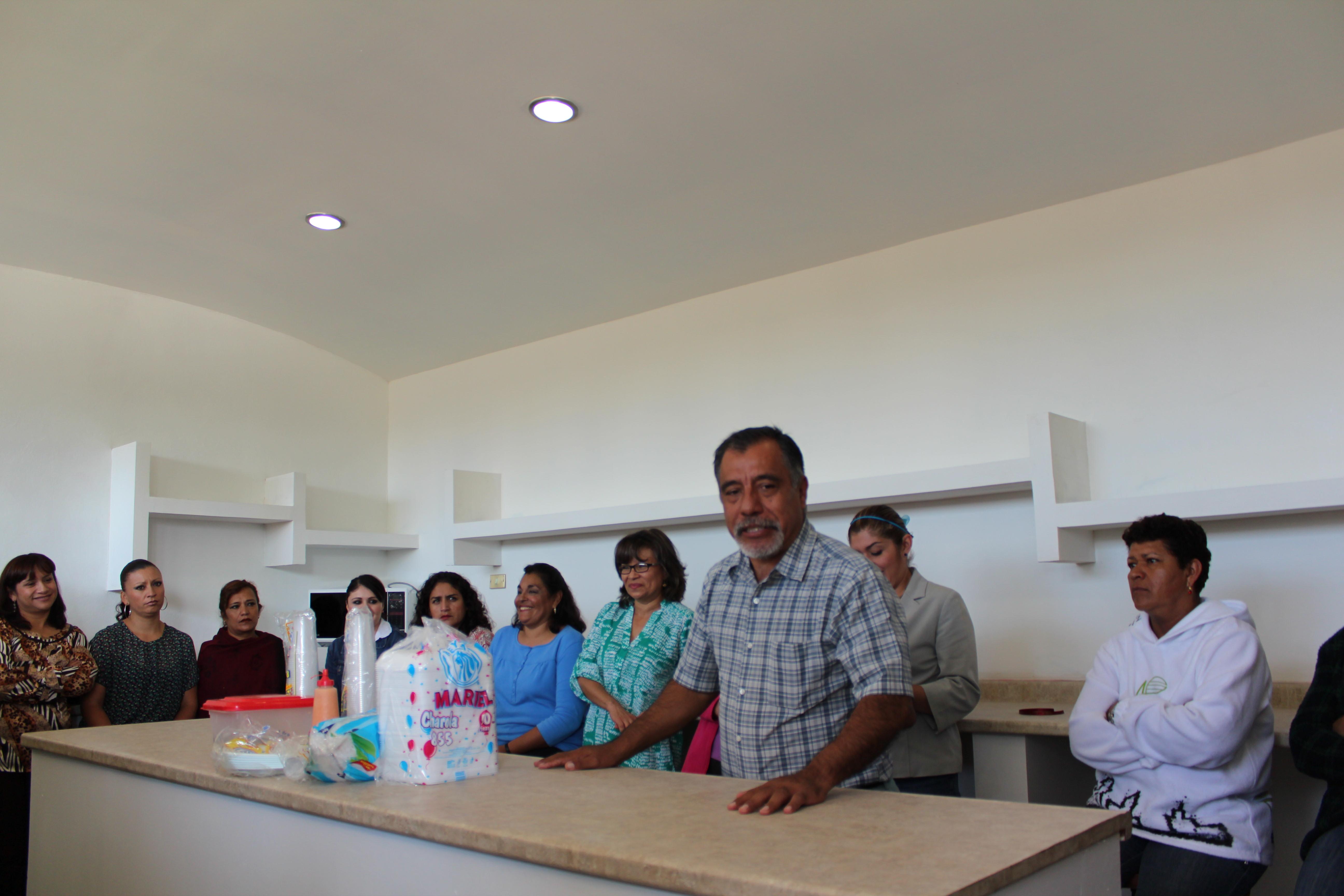 Inauguracion del comedor para el personal