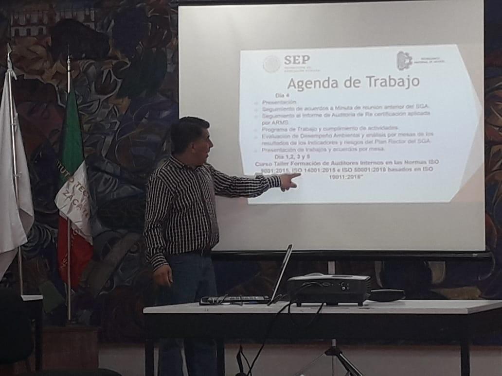 CURSO INTERSEMESTRAL DEL SISTEMA DE GESTIÓN DE CALIDAD Y SISTEMA DE GESTIÓN AMBIENTAL