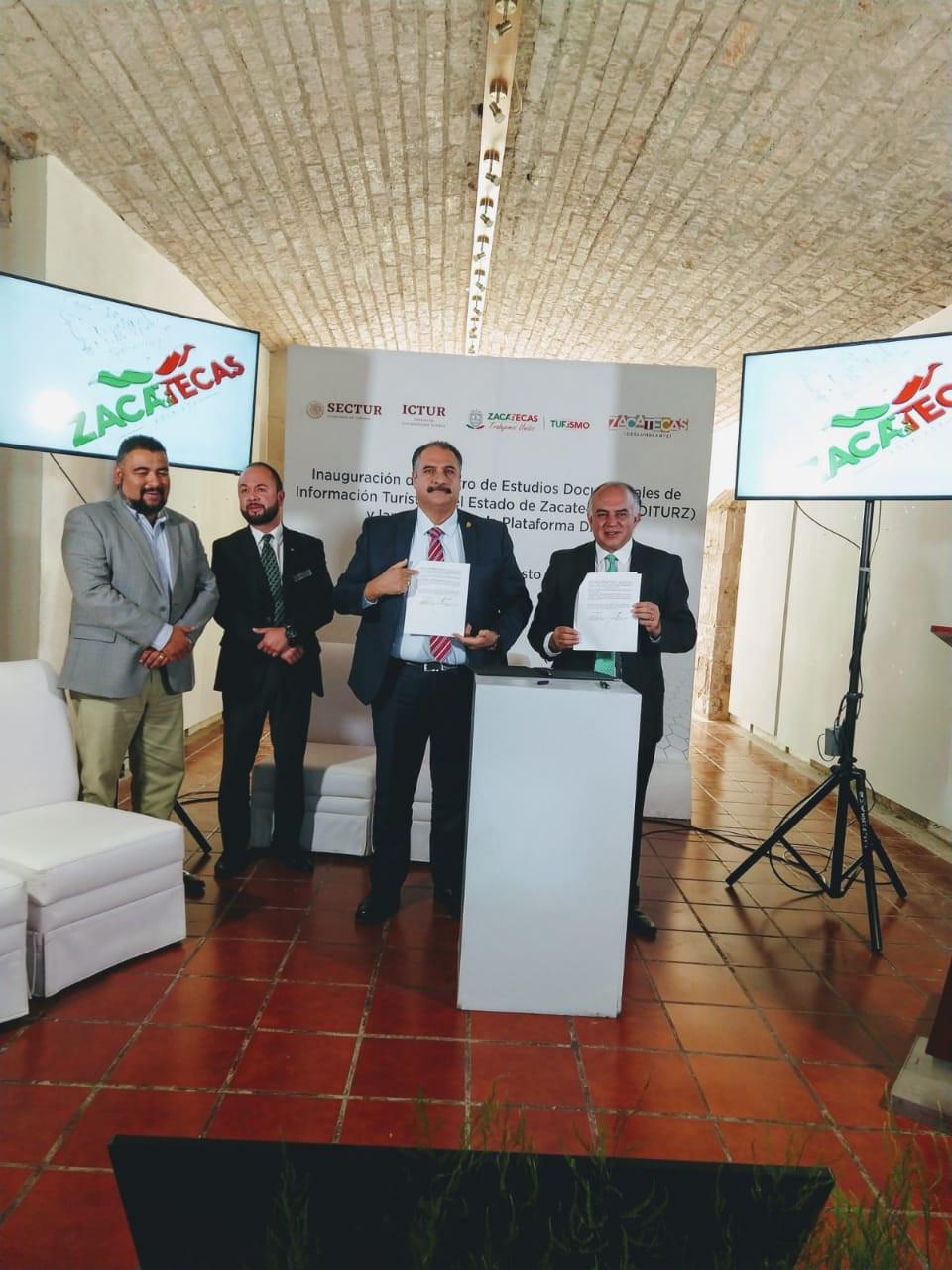 FIRMA DE CONVENIO CON SECTUR E INAGURACION DEL CEDITURZ Y LANZAMIENTO DE LA PLATAFORMA DIGITAL